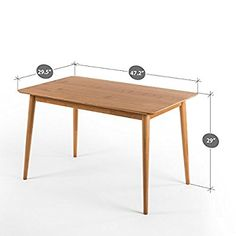 Zinus Espresso Wood Dining Table Only Drrao Pinterest And Woods