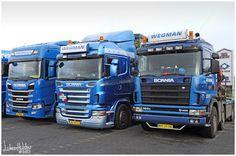 SCANIA: Scania ''three generation'' @ Wegman Sellingen
