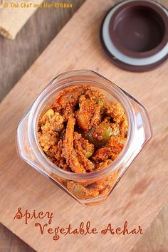 Indian Food Recipes, Asian Recipes, Healthy Recipes, Veg Recipes, Yummy Recipes, Vegetarian Recipes, Dinner Recipes, Indian Pickle Recipe, Mixed Pickle