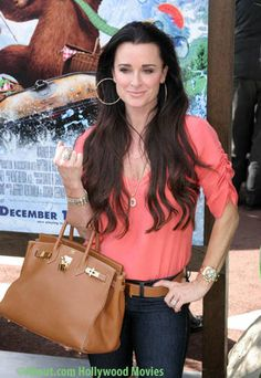 Exclusive photo of Kyle Richards at the premiere of the movie Yogi Bear. Kyle Richards photo from the premiere of Yogi Bear held on December 2010 Westwood, CA. Kyle Richards, Wardrobes, Hand Bags, Beverly Hills, Closets, Her Hair, Casual Wear, Squad, Fashion Beauty