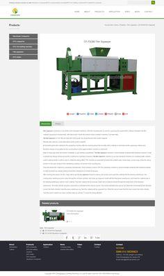 CF-FS380 Film Squeezer _ Styrofoam Compactor_EPS compactor_EPS Hot melting machine_EPS melter _Film squeezer_qinfeng machine