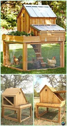 61 DIY Chicken Coop Plans & Ideas That Are Easy to Build (100% Free) #chickencoopplanseasy
