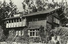Bernard Maybeck house in Berkeley.