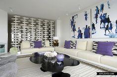 Contemporary Apartment in New York // Robert Couturier | Afflante.com