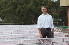 Revolutionary printed solar sheets reach final trial stages in New South Wales Solar Energy Panels, Solar Panels For Home, Best Solar Panels, Solar Energy System, Solar Power, Solar Shingles, Solar Roof Tiles, Solar Projects, Solar House