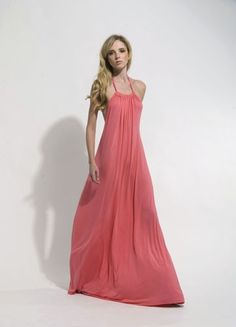 The Victoria Dress, Coral Glam Dresses, Pretty Dresses, Beautiful Dresses, Casual Dresses, Coral Maxi, Victoria Dress, Spring Summer Fashion, Dress Skirt, Girls