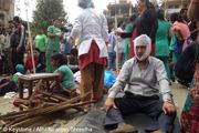 A earthquake centered less than 50 miles from Kathmandu rocked Nepal with devastating force April authorities said. Bbc News, Medical, In This Moment, World, April 25, Buildings, Climbers, Volunteers, Pray