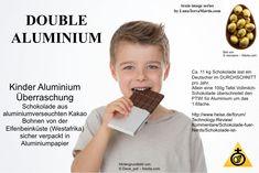 Schokolade mit Aluminium, Kinder Schokolade