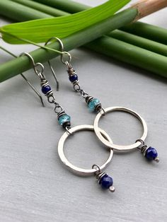 Blue Gypsy Soul Earrings