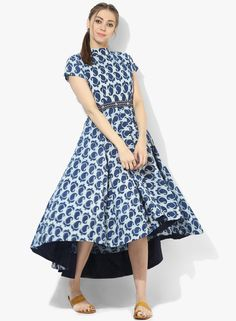 ec67828606e Round Neck Cap Sleeves Printed Skater Dress Skater Dress