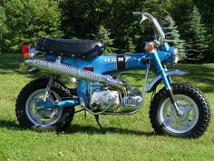 Beautiful (1970) Honda CT70 https://plus.google.com/+JohnPruittMotorCompanyMurrayville/posts