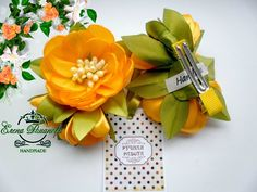 Satin Flowers, Flower Shape, Flower Making, Hair Bows, Ribbon, Hair Accessories, Gift Wrapping, Place Card Holders, Shapes