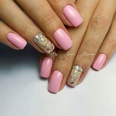 Do you love everything unusual and bright? Do you like when somebody pay attention on your manicure and admire it? It's a super option of a soft and bright