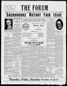 The Sherbrooke Forum - Google News Archive Search