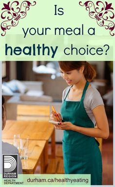 Heading to a restaurant with friends and family? Did you know…the average restaurant meal contains about 50% of your daily calories and about 150% of your daily sodium intake! Are your choices at restaurants #healthy? Take the quiz to check your knowledge on the topic!