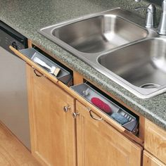 Under Kitchen Sink Cabinet how-to: turn your kitchen sink's false drawer into a functional