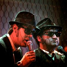 """""""We're the Good Ol' Blues Brothers Boys"""".The Blues Brothers - Elwood and Jake Charles Bukowski, Blues Brothers Movie, George Burns, Blues Music, Saturday Night Live, Soul Music, Along The Way, Funny People, Portraits"""