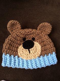 Ravelry: Teddy Bear Hat pattern by Carolina Guzman