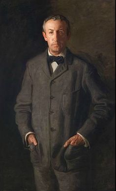 Portrait of William B. Kurtz, 1903. Thomas Eakins, American, 1844–1916. Oil on canvas, 57 x 37 inches (144.8 x 94 cm). Bequest of Daniel W. Dietrich II, 2016.