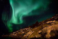 Aurora Face, Tromso, Norway