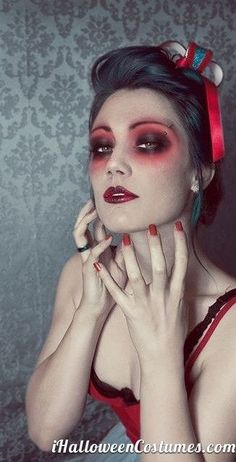 Halloween Makeup - Dead Woman