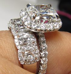 Every girl dreams of the perfect diamond ring