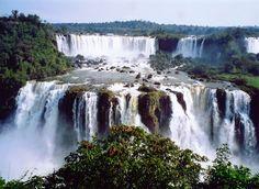 Iguasu falls, brazil, 8-2004