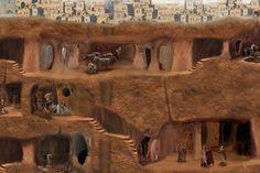 kapadokyada'ki yeraltı şehirleri | Ne Biliyon