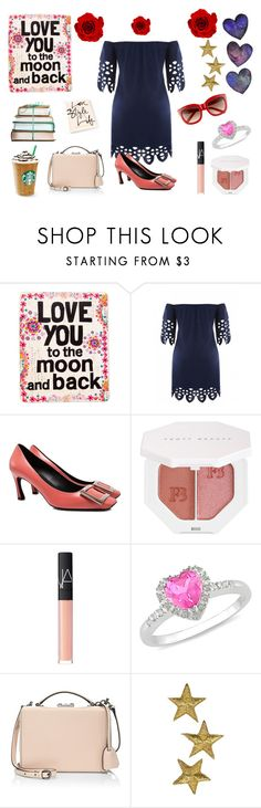 """Moon & Back"" by fashion2religion ❤ liked on Polyvore featuring Natural Life, Roger Vivier, Puma, NARS Cosmetics, Ice, Mark Cross, Beauty and makeup"