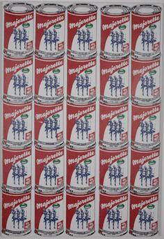 Nicolas NOVERRAZ                        Sérigraphie 25 boîtes de Majorettes Andy Warhol, Oeuvre D'art, Les Oeuvres, Homemade, Artist, Home Made, Hand Made