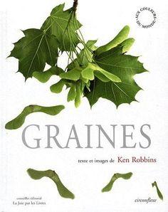 """Documentaire, photos / images magnifiques de toutes sortes de graines. Dès 4 ans. A mettre en lien avec """"10 petites graines""""."""