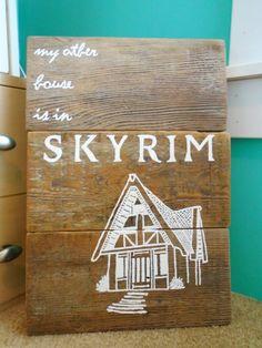 330 Best Skyrim Home Decor Images On Pinterest Videogames Skyrim