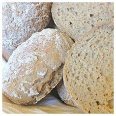 Buckwheat rolls (gluten free, wheat free), with buckwheat and brown rice Sugar Free Baking, Gluten Free Baking, Vegan Gluten Free, Gluten Free Recipes, Baking Recipes, Cookie Recipes, Lchf, Wheat Free Bread, Patisserie Sans Gluten
