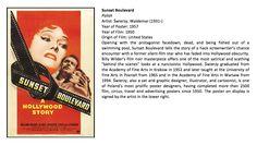 Sunset Boulevard (Polish description & US poster) Western Film, Screenwriting, Film Posters, Polish, Iron, Sunset, The Originals, Vitreous Enamel, Script Writing