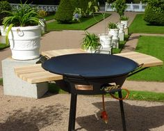 Simply Recipes, Simply Food, Outdoor Tables, Outdoor Decor, Picnic Table, Wok, Soul Food, Grilling, Cottage