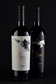 Diseño Etiqueta de Vino / Wine label Design TIERRA DE DIOSES