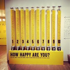 The Happy Show, went to the reception at the Chicago Cultural Center tonight. So much happiness.