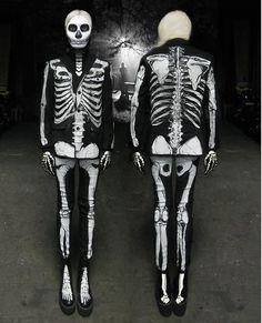 Skeleton Costume Idea
