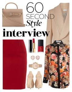 """""""Untitled #542"""" by m-jelic ❤ liked on Polyvore featuring Givenchy, Paule Ka, Jimmy Choo, Alexander Wang, Michael Kors, Monica Vinader, NARS Cosmetics, jobinterview and 60secondstyle"""