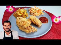 Sauce Barbecue, Le Diner, Chicken Nuggets, Flan, Macaroni, Cauliflower, Nutrition, Vegetables, Ethnic Recipes