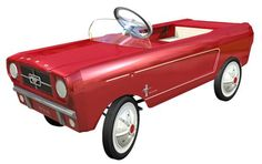 1965 Mustang Pedal Car - Red.....had one!!!  Wish I still had it.