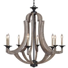 Found it at Wayfair - Winton 8 Light Candle Chandelier