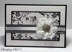 classy black and white card#Repin By:Pinterest++ for iPad#
