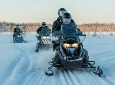Arctic Circle Snowmobile Park offers experiences in Lapland that you won't forget - Arctic Circle Snowmobile Park in Santa Claus Village – Rovaniemi Safaris – Lapland - Finland Santa Claus Village, Safari, Lapland Finland, Excursion, Arctic Circle, This Is Us, Forget, Bucket, Park
