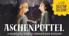 """Bilingual story of Cinderella in Spanish/English with Spanish audio. Cenicienta has two selfish """"hermanastras"""" and a mean """"madrastra"""". Will she go to the """"baile del rey"""" and meet """"el príncipe?"""