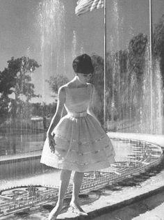 1960s dress, so sweet #1960sdress #1960sfashion #1960sclothing