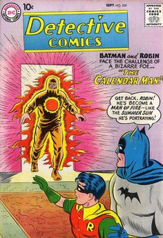 Detective Comics #259 first appearance of the Calendar Man.