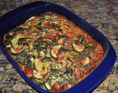 Use vegetable mix and bake with cornmeal spread on the bottom like a crust