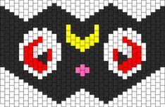 Luna Sailor Moon 35 Across Bead Pattern | Peyote Bead Patterns ...