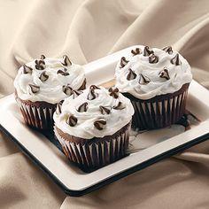 Triple Treat Chocolate Cupcakes Recipe